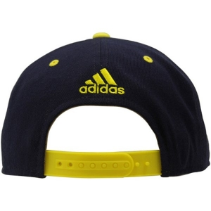 Michigan Wolverines Hockey ncaa adidas snapback кепка темно-синяя