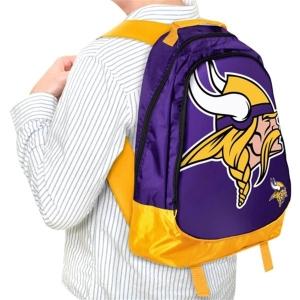 Minnesota Vikings nfl молодежный 46x33x16 рюкзак фиолетовый