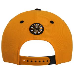Boston Bruins nhl zephyr хоккейная кепка с прямым козырьком желтая