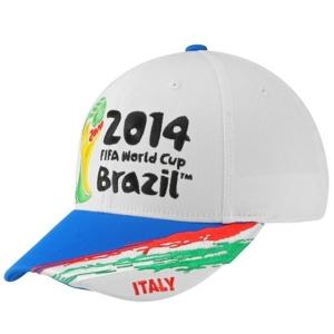 ITALY adidas world cup flex-fit футбольная бейсболка белая