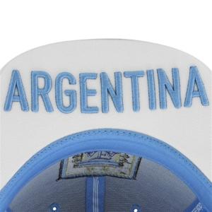 Argentina adidas world cup snapback футбольная кепка бело-голубая
