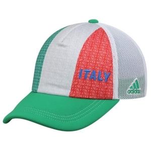 Italy adidas world cup футбольная бейсболка с сеткой белая красно-зеленая