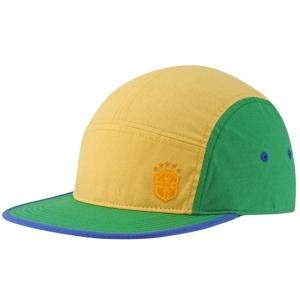 BRASIL nike snapback футбольная кепка желто-зеленая