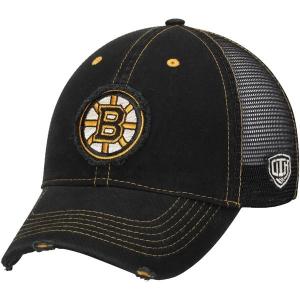 Boston Bruins nhl old time hockey хоккейная бейсболка с сеткой черная