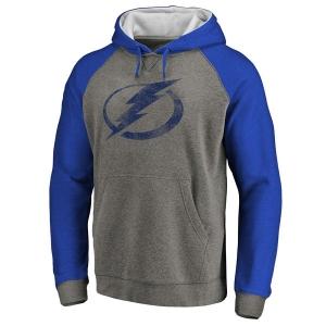 Tampa Bay Lightning nhl fanatics raglan hoodie хоккейная толстовка с капюшоном