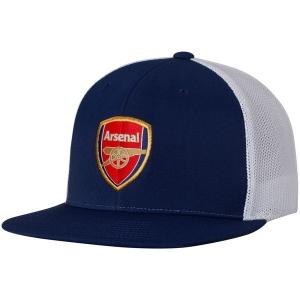 Arsenal FC puma snapback футбольная кепка с сеткой синяя