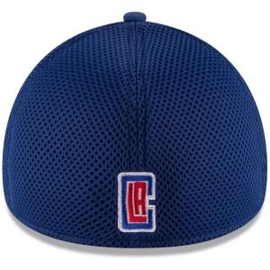 LA Clippers nba new era flex-fit neo спортивная бейсболка красно-синяя