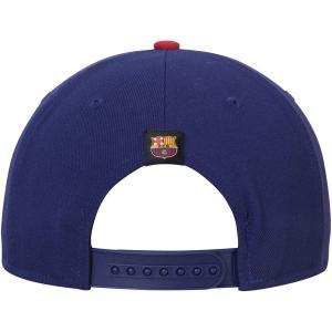 Barcelona FC nike squad snapback футбольная кепка с прямым козырьком синяя