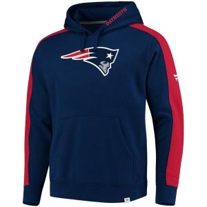 New England Patriots nfl fanatics pro line pullover hoodie толстовка с капюшоном