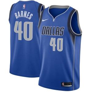 Harrison Barnes Dallas Mavericks nba nike джерси баскетбольная майка синяя