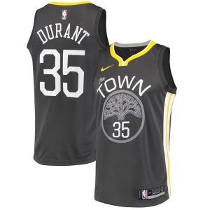 Kevin Durant Golden State Warriors nba nike джерси баскетбольная майка черная