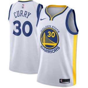 Stephen Curry Golden State Warriors nba nike джерси баскетбольная майка белая