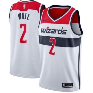 John Wall Washington Wizards nba nike джерси баскетбольная майка белая