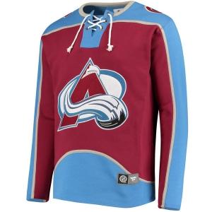 Colorado Avalanche nhl fanatics хоккейная спортивная кофта бордовая