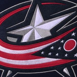 Columbus Blue Jackets nhl fanatics хоккейная спортивная кофта синяя
