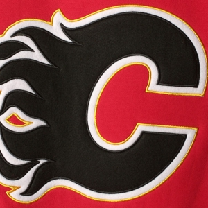 Calgary Flames nhl fanatics хоккейная спортивная кофта красная
