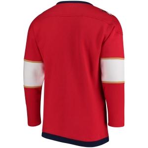 Florida Panthers nhl fanatics хоккейная спортивная кофта красная