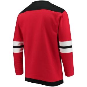 New Jersey Devils nhl fanatics хоккейная спортивная кофта красная
