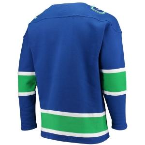Vancouver Canucks nhl fanatics хоккейная спортивная кофта синяя