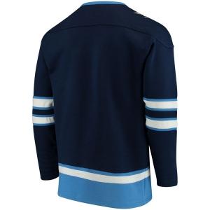 Winnipeg Jets nhl fanatics хоккейная спортивная кофта синяя
