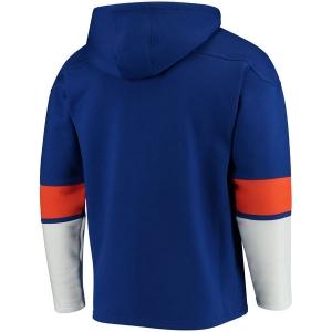 New York Islanders nhl fanatics full-zip hoodie хоккейная толстовка с капюшоном