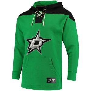 Dallas Stars nhl fanatics lace up hoodie хоккейная толстовка с капюшоном