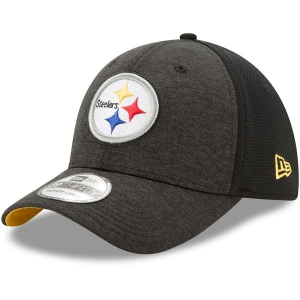 Pittsburgh Steelers nfl new era flex shadowed спортивная бейсболка черная