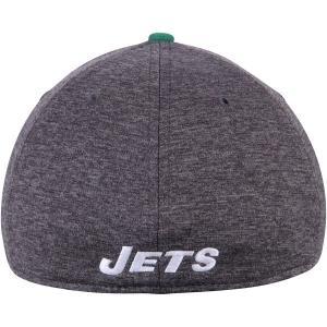 New York Jets nfl new era flex historic спортивная бейсболка серая