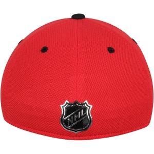 Chicago Blackhawks nhl adidas flex-fit locker хоккейная бейсболка красная