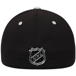 Los Angeles Kings nhl adidas flex-fit locker хоккейная бейсболка черная