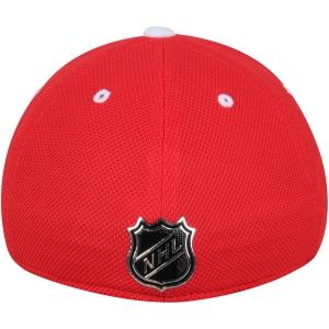 Detroit Red Wings nhl adidas flex-fit locker хоккейная бейсболка красная
