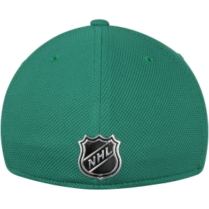 Dallas Stars nhl adidas flex-fit practice хоккейная бейсболка зеленая