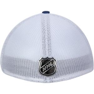 Vancouver Canucks nhl adidas flex-fit on ice хоккейная бейсболка сине-белая