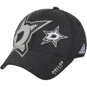 Dallas Stars nhl adidas flex-fit travel хоккейная бейсболка черная