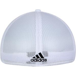 Columbus Blue Jackets nhl adidas tonal flex-fit хоккейная бейсболка белая
