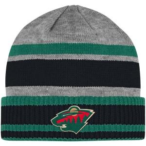 Minnesota Wild nhl adidas heathered хоккейная шапка