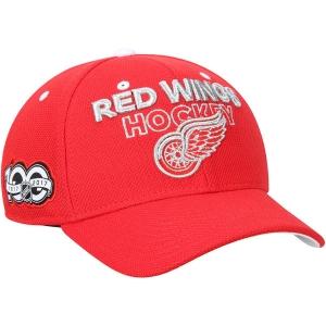 Detroit Red Wings nhl adidas centennial хоккейная бейсболка красная