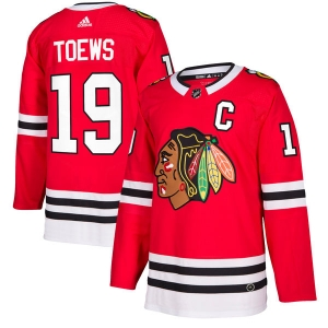 Jonathan Toews Chicago Blackhawks nhl adidas authentic хоккейный свитер красный