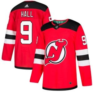 Taylor Hall New Jersey Devils nhl adidas authentic хоккейный свитер красный