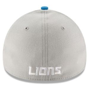 Detroit Lions nfl new era flex classic спортивная бейсболка серая