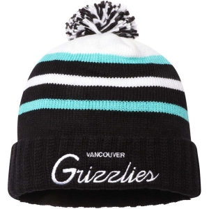 Vancouver Grizzlies nba mitchell & ness historic 95-01 зимняя шапка с помпоном