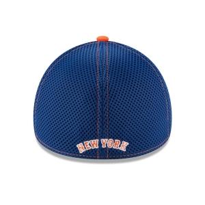 New York Mets mlb new era flex shadow спортивная бейсболка синяя