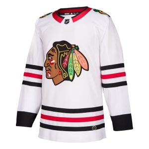 Chicago Blackhawks nhl adidas authentic хоккейный свитер белый