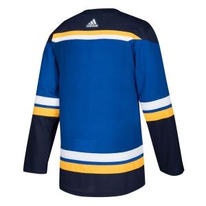 St Louis Blues nhl adidas authentic хоккейный свитер синий