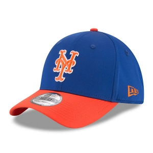 New York Mets mlb new era flex practice спортивная бейсболка синяя