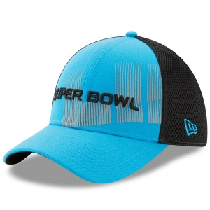 Super Bowl nfl new era flex neo спортивная бейсболка голубая