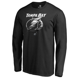 Tampa Bay Lightning nhl midnight хоккейная футболка лонгслив черная