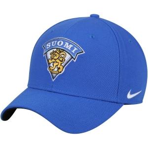 Finland Hockey nike iihf winter olympics хоккейная бейсболка синяя