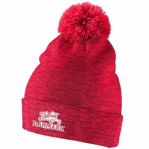 Denmark Hockey nike iihf olympic хоккейная шапка с помпоном красная