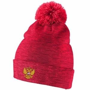 Россия Hockey nike iihf olympic хоккейная шапка с помпоном красная